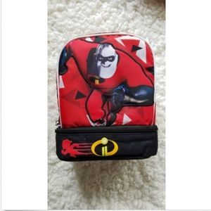 DISNEY INCREDIBLES 2 Lunch Box Dual Chamber